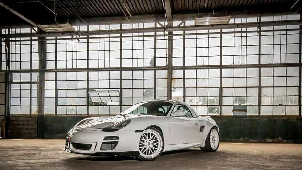 The Porsche 986 Boxster Is Far From Complete As Xupherix Has Plans To Upgrade The Suspension In The Near Future Click The Link Porsche 986 Porsche Boxster