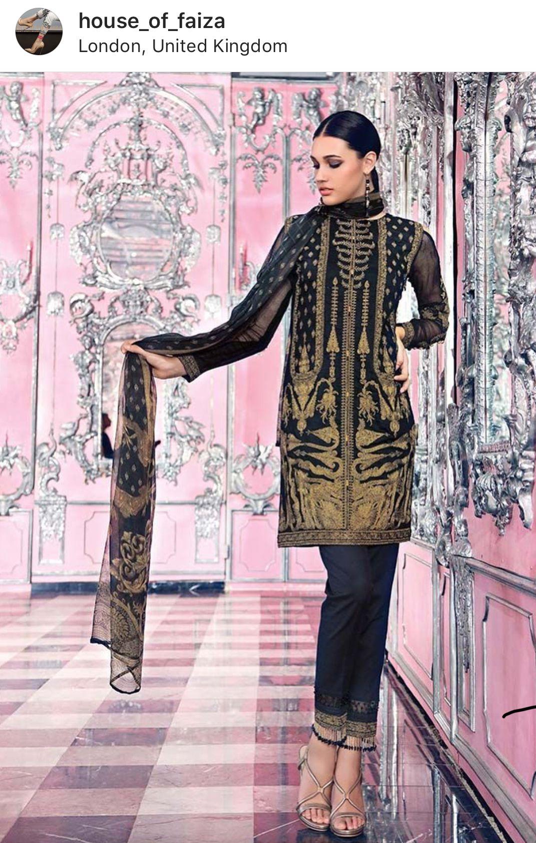 Pin by Fatima Tremasi on Women\'s Pakistani Wear | Pinterest | Party ...