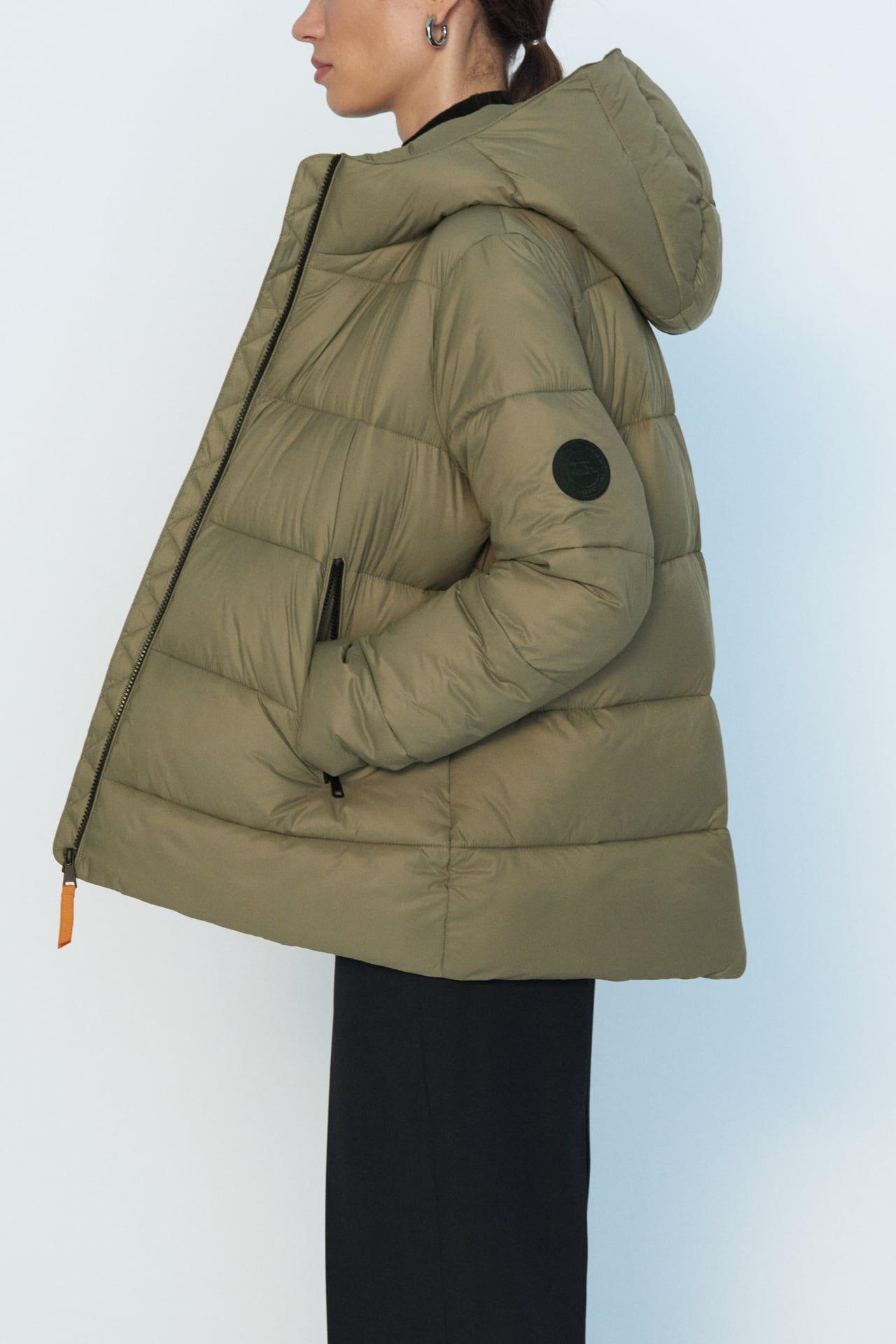 Comfortemp Thermal Insulation Puffer Jacket Zara Canada Puffer Jacket Women Puffer Jackets Puffer [ 1920 x 1280 Pixel ]