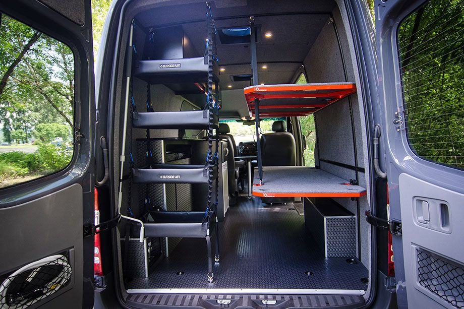Custom Built Vans With Images Camper Beds Transit Camper