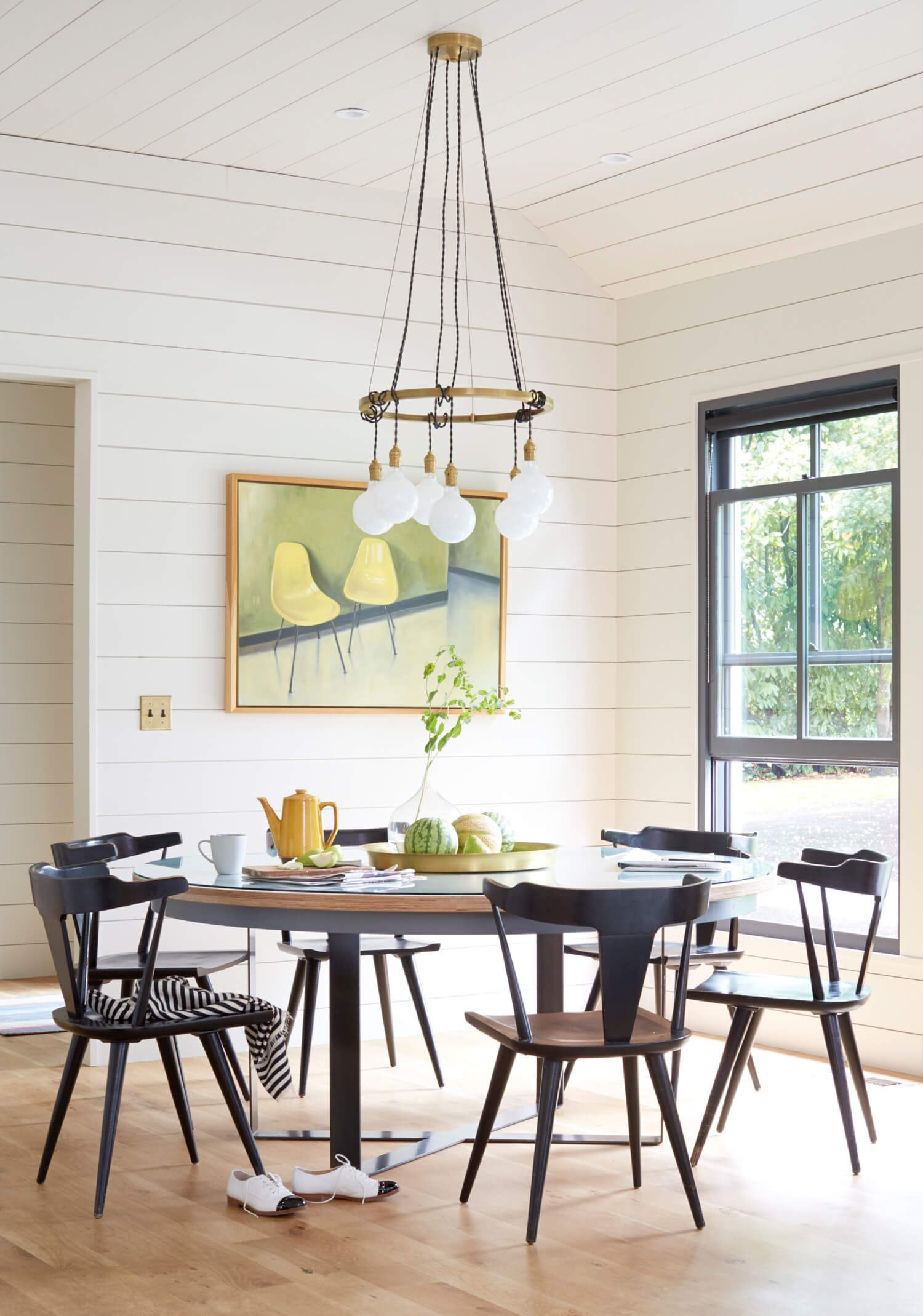 A Minimal Modern Farmhouse Dining Room | Dining Spaces | Pinterest