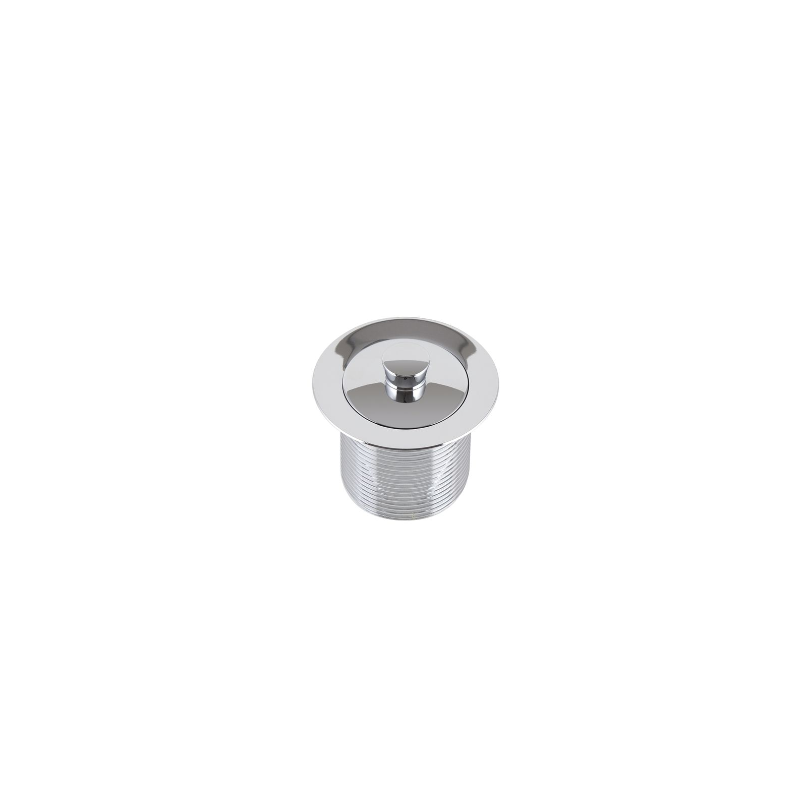 Kinetic 40mm Chrome Bath Waste With Plug Bathroom Toilet
