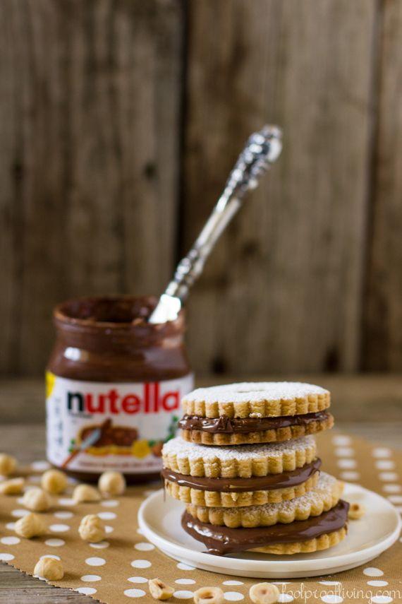 Nutella Sandwich Cookies | 33 Super-Fancy Ways To Eat More Nutella