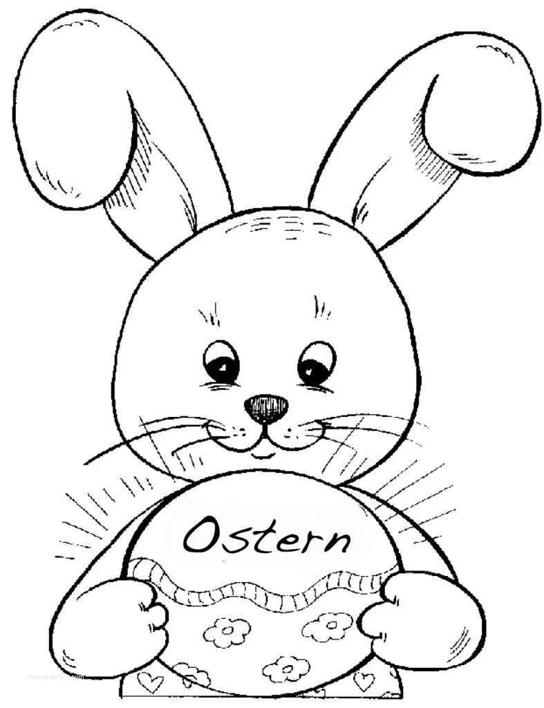 Pin Von Elli Glode Auf Malvorlage Osterhasen Bilder Osterhasen Bilder Zum Ausmalen Ostern Zeichnung