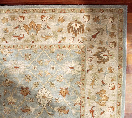 Malika Persian Style Rug | Pottery Barn   Would Be Beautiful And Work Well  With