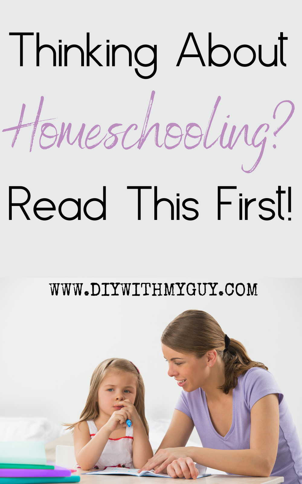 Why Homeschooling is One of the Best Decisions We Have Ever Made - DIY With My Guy