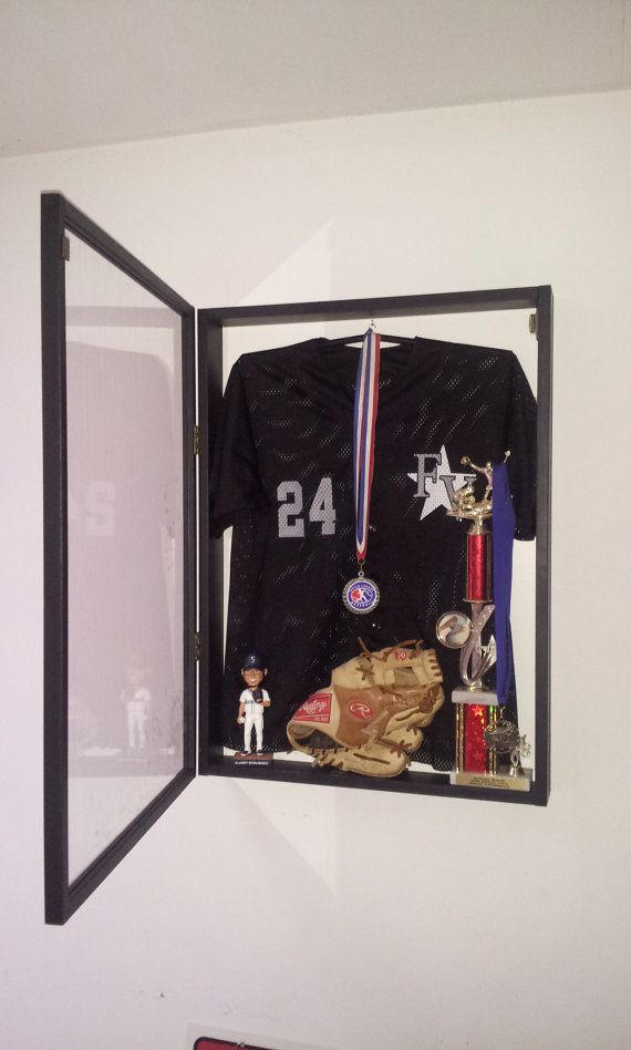 Jersey Display Case Frame Shadow Box Football Hockey
