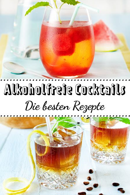 Photo of Non-alcoholic cocktails – fruity fun in a glass