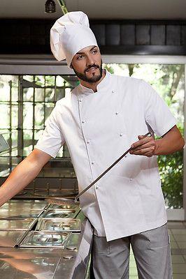 Siete pronti per il cambio di stagione  Giacca Uomo Cuoco Chef da lavoro  Ristorante Cucina 1ec96b92b7cc
