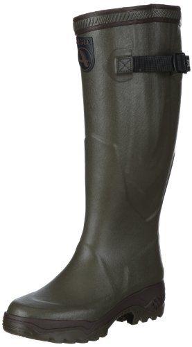 Aigle Unisex-adults Parcours 2 Vario Wellington Boots Hunting Shoes, Green ( kaki), 5.5 Uk