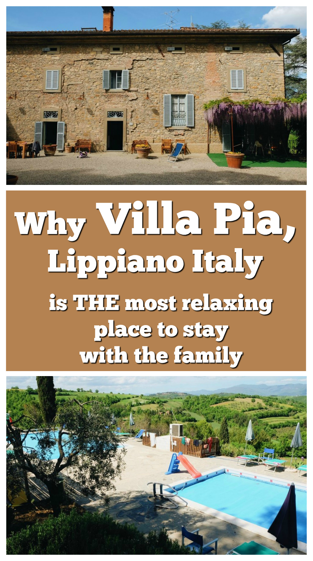A Perfectly Relaxing Family Villa Holiday In Italy: Villa