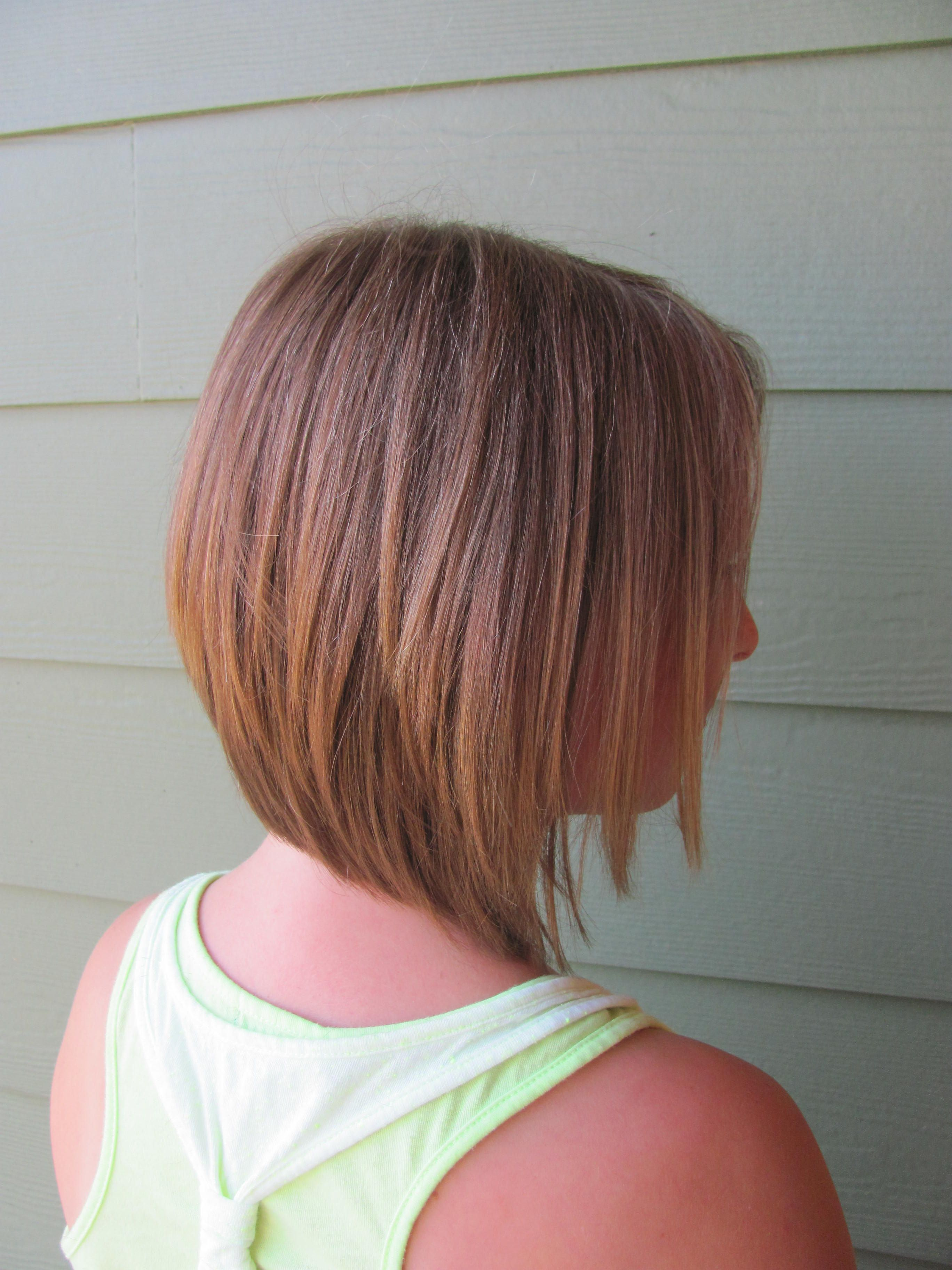 Little Girl Inverted Bob Haircut Inverted Bob Haircuts Hair Styles Bob Hairstyles