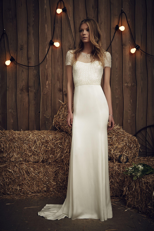 Jenny Packham Carrie Ivory | Brautkleider | Pinterest | Jenny ...