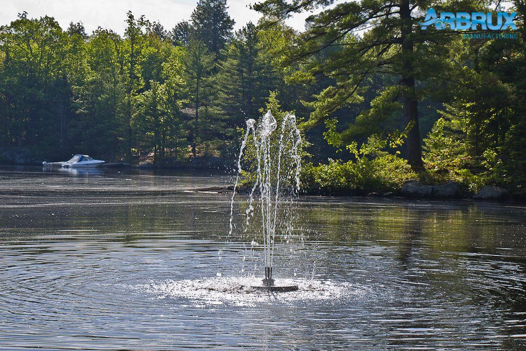 Beautiful Floating Lake & Pond Fountains Juniper Pattern