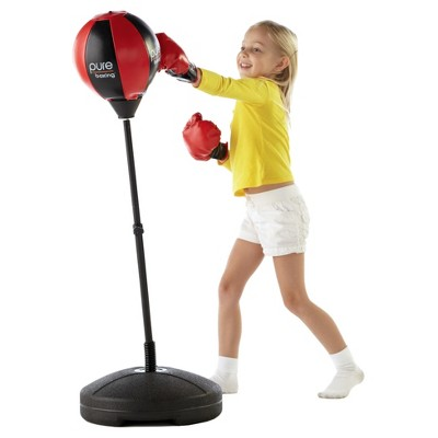 Red Pure Boxing Punch and Play Punching Bag for Kids