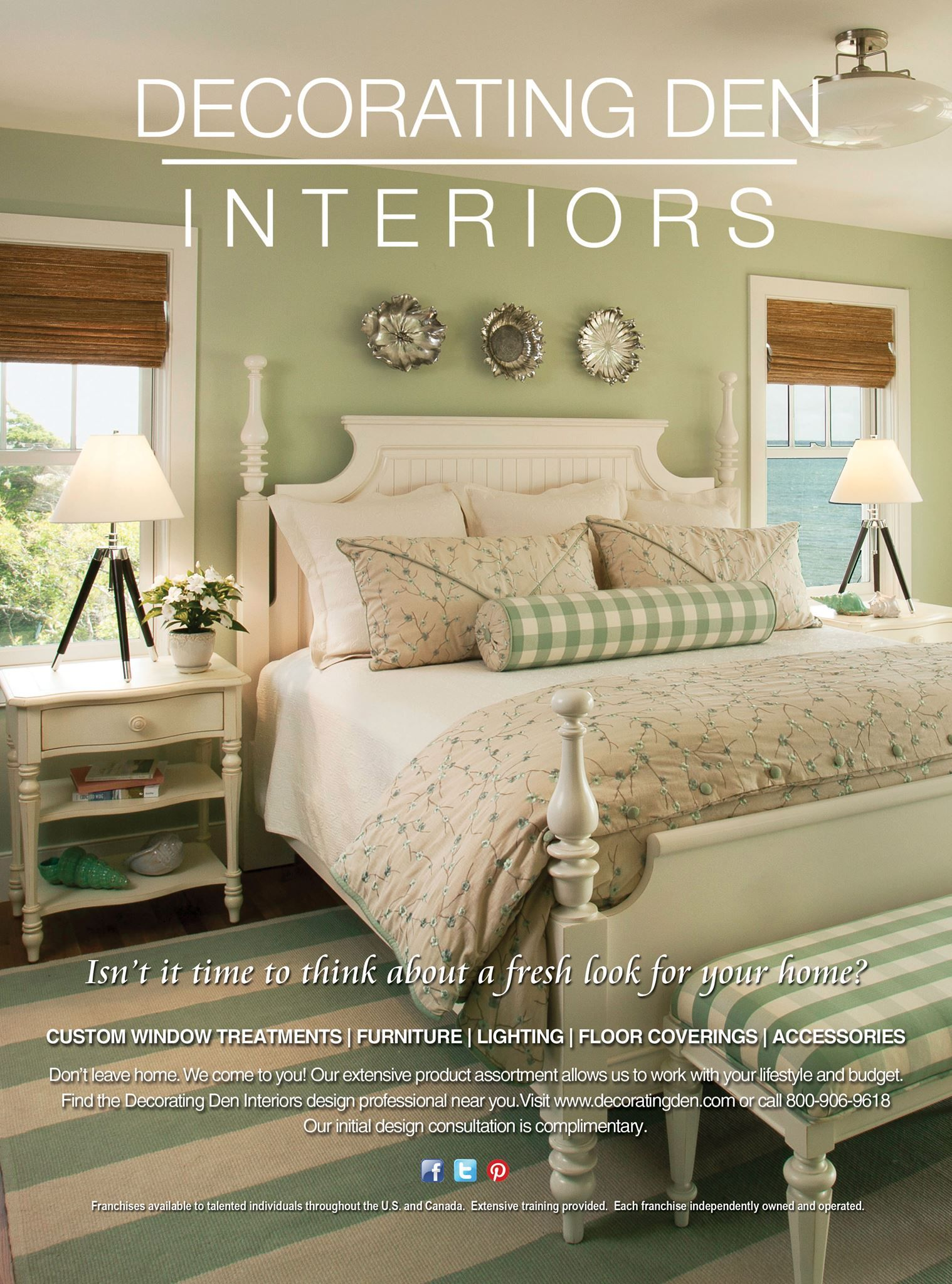 Check Out The Most Recent Decorating Den Interiors Ad In The Cottages U0026  Bungalows September Issue