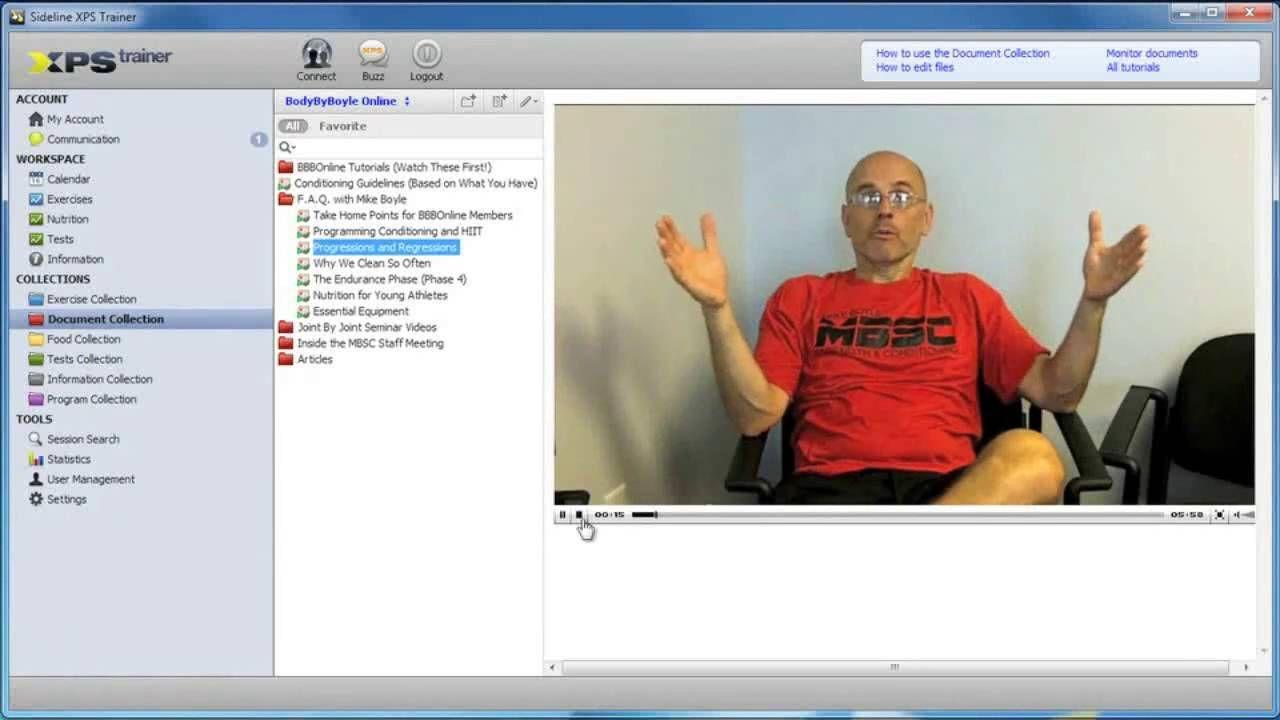 Walkthrough XPS Trainer Personal Training Client Managing