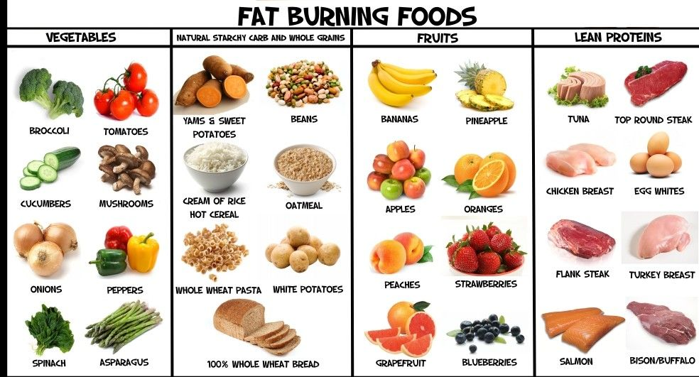 Fat burner nutrition plan
