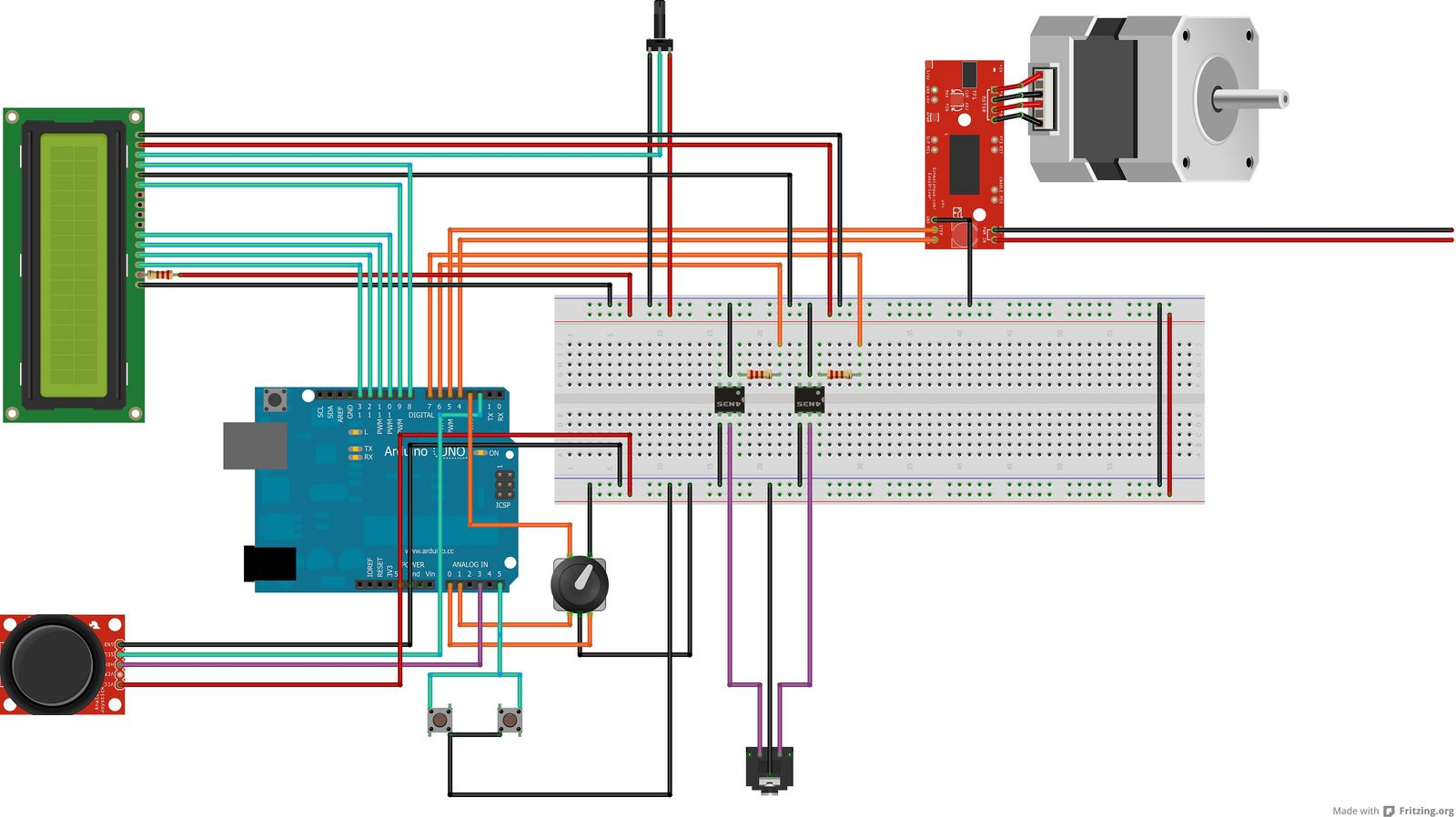Stackduino is an Arduino based controller for automating focus – Rotary Encoder Joystick Wiring-diagram