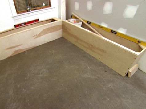 How To Build A Banquette Storage Bench Banquette Seating In Kitchen Storage Bench Seating Kitchen Storage Bench