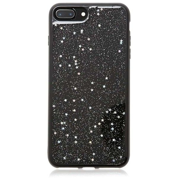 pretty nice 587b9 3ad73 Forever21 Glitter Phone Case for iPhone 7 Plus (€6,79) ❤ liked on ...