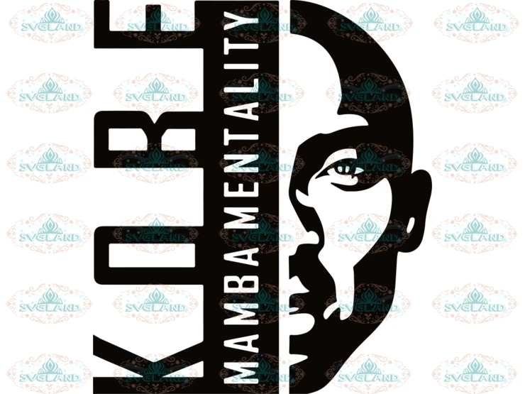 Kobe Bryant SVG, Screen Printing, Sublimation, Black Mamba