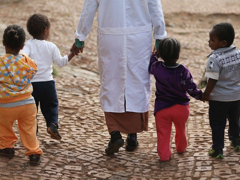 In Ethiopia, A New Ban On Foreign Adoptions Is About