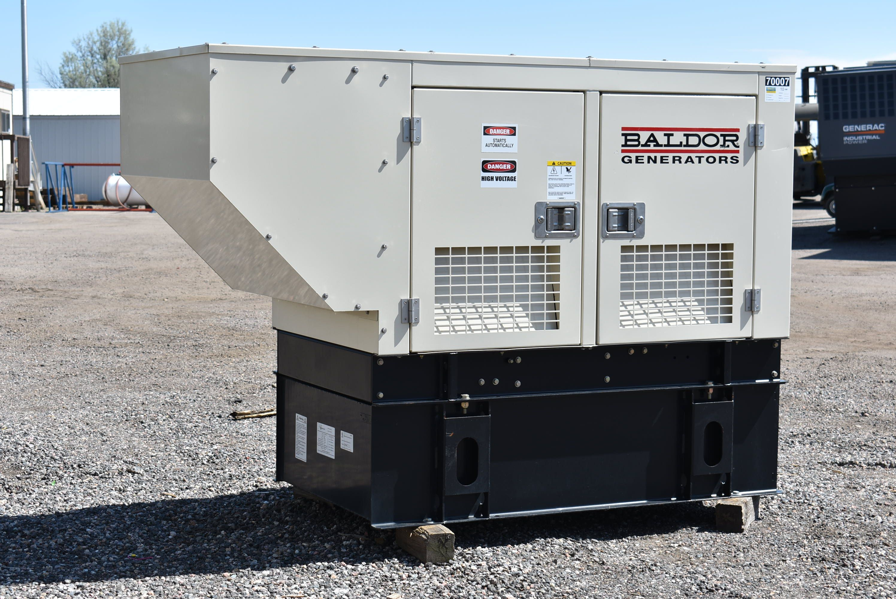 For Sale Baldor 10 Kw Diesel Generator Set Unit 70007 Model Idlc10 3mu Year 2011 41 8 Hours Run 240 Volt 3 Phase Mi Generation Diesel Generators Dry Pack