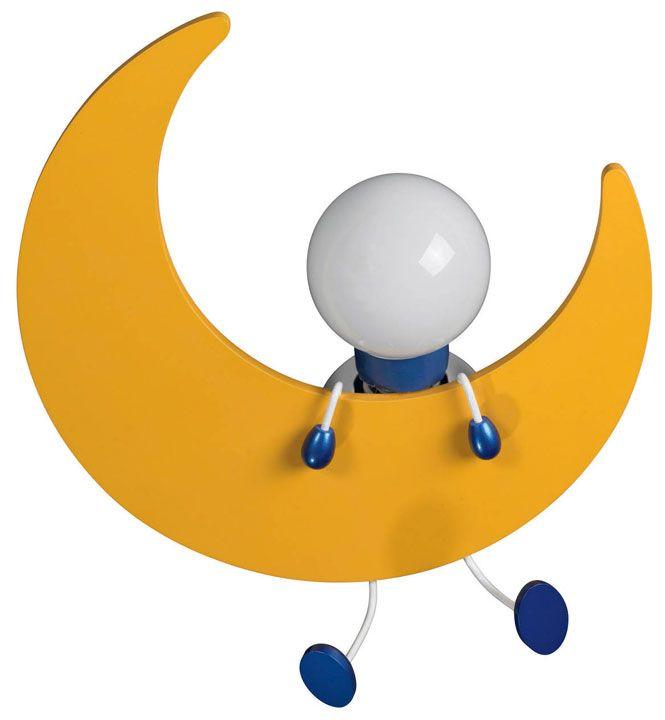 Philips 302685548 kidsplace 13 7 inch tall moon lamp childrens room lighting phi 302685548