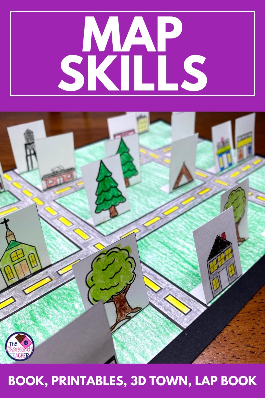 Map Skills Worksheets Mapping Skills Activities Map Skills Map Skills Worksheets Map Activities [ 1500 x 1000 Pixel ]