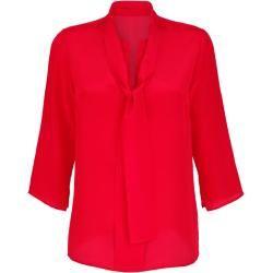 Photo of Alba Moda, blouse with decorative bow, red Alba Moda