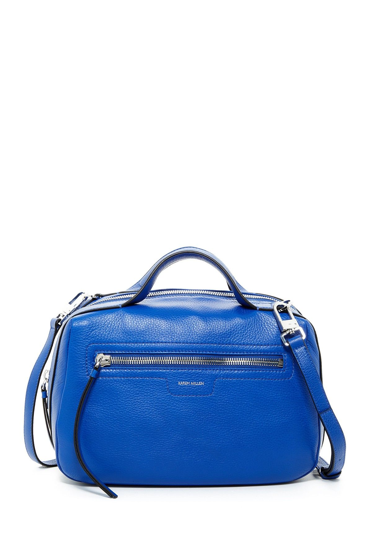 Sporty Collection Leather Bowler Satchel #nordstromrack
