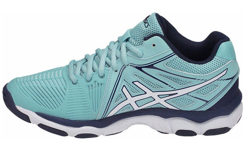 c93d4bc1c2 ASICS Gel Netburner Ballistic MT Badminton Volleyball Shoes Sky Blue  B558Y-1401 #ASICS