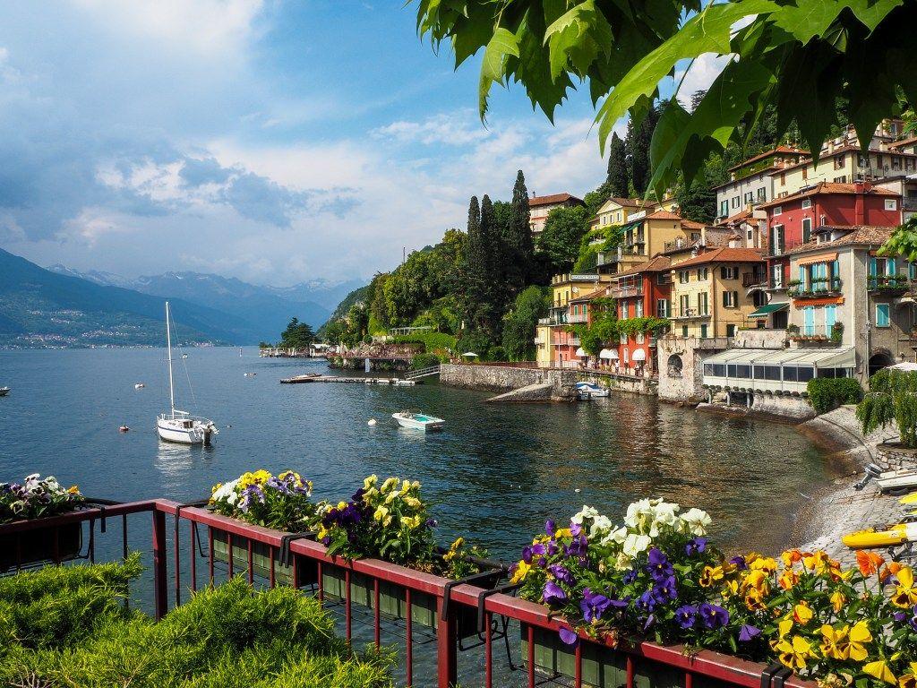 Varenna Comer See Comer See Italien Reisen Italien Urlaub