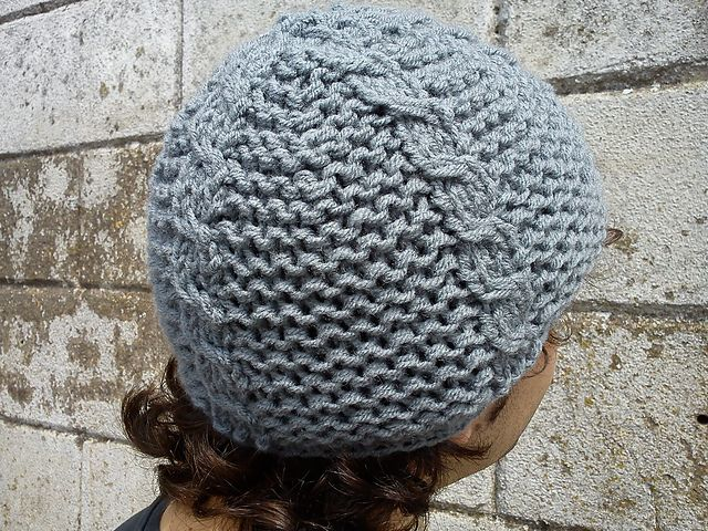 Easy Knitting Ideas For Adults : Free hat easy patterns for adults knitting with one