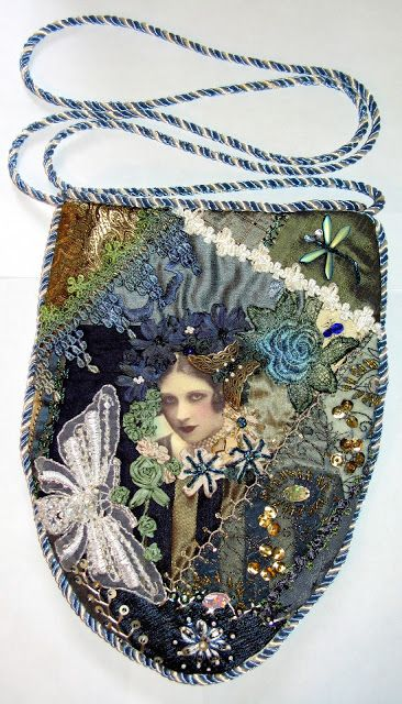 Victorian Dolls, Victorian Traditions, The Victorian Era, and Me: What A Surprise! My Crazy Quilt Purse Is Definitely VERY Victorian! #victoriandolls