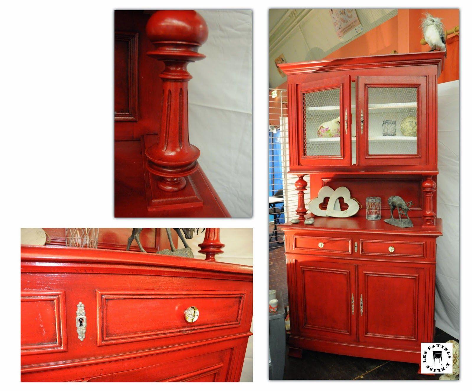 Buffet Rouge Jpg 1600 1325 Meuble Et Peinture Pinterest