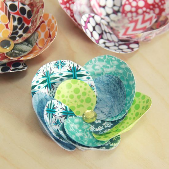 How to make scrap paper flowers paper flowers ideas pinterest how to make scrap paper flowers mightylinksfo