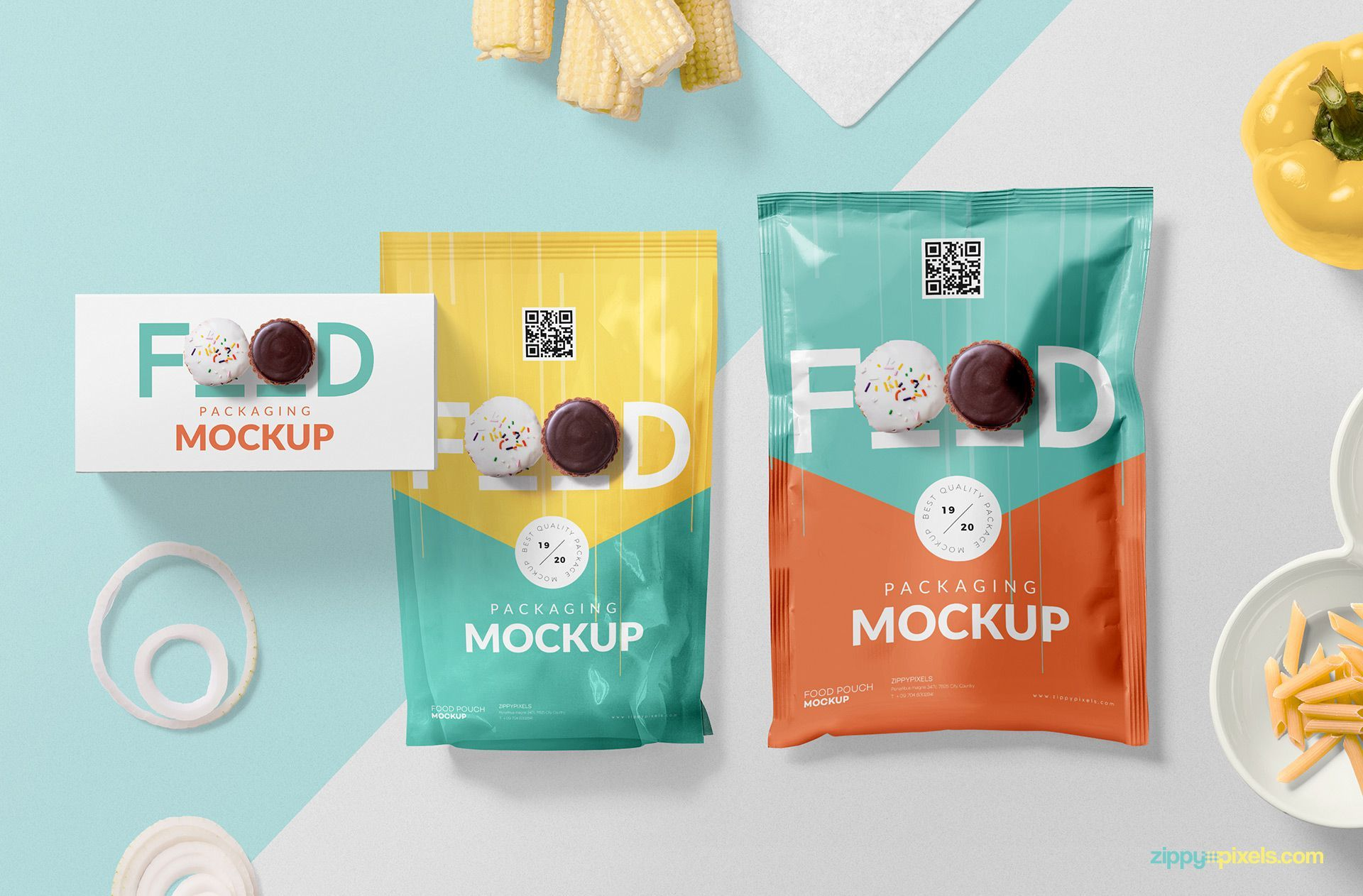 Download Awesome Food Packaging Mockup Free Psd Zippypixels Packaging Mockup Food Packaging Food Packaging Design