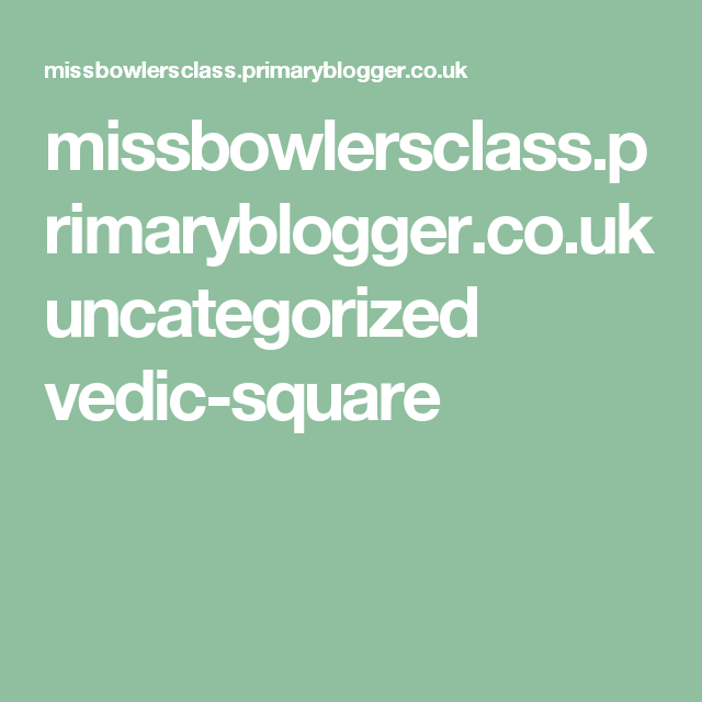 17+ PrimaryBlogger