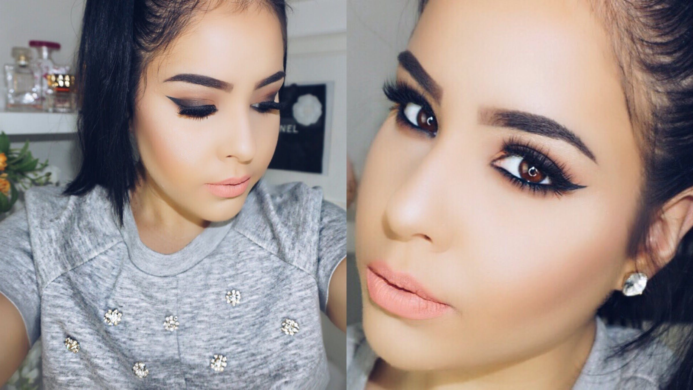 HOW TO SHAPE & FILL IN EYEBROWS | My current brow routine ...