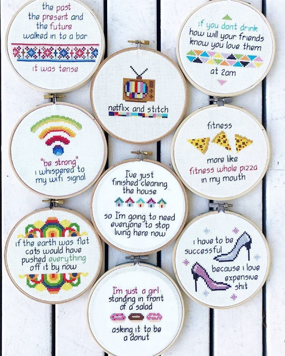 """Photo of Cross stitch chart Unite! on Instagram: """"For everyone who doesn't like my organic …"""