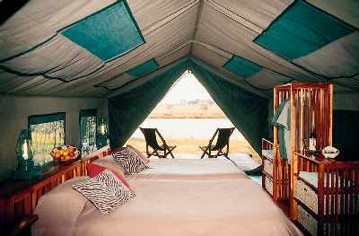 Tent Living Year-Round | The interior of your luxury safari tent which is & Tent Living Year-Round | The interior of your luxury safari tent ...