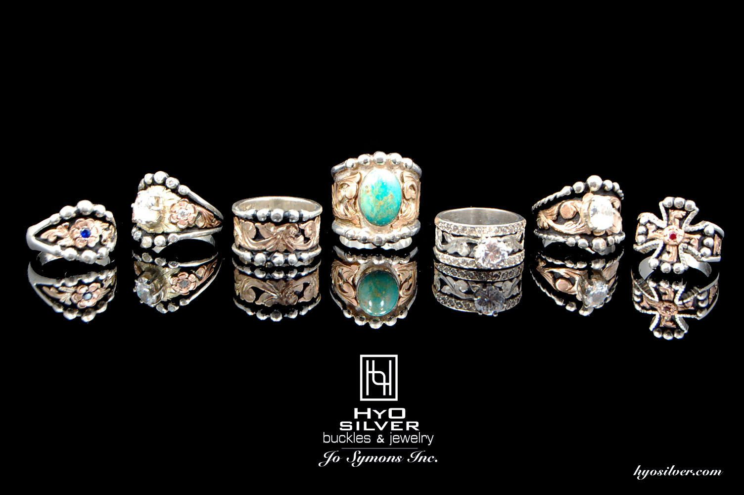 Ring Collection Western wedding rings, Western rings