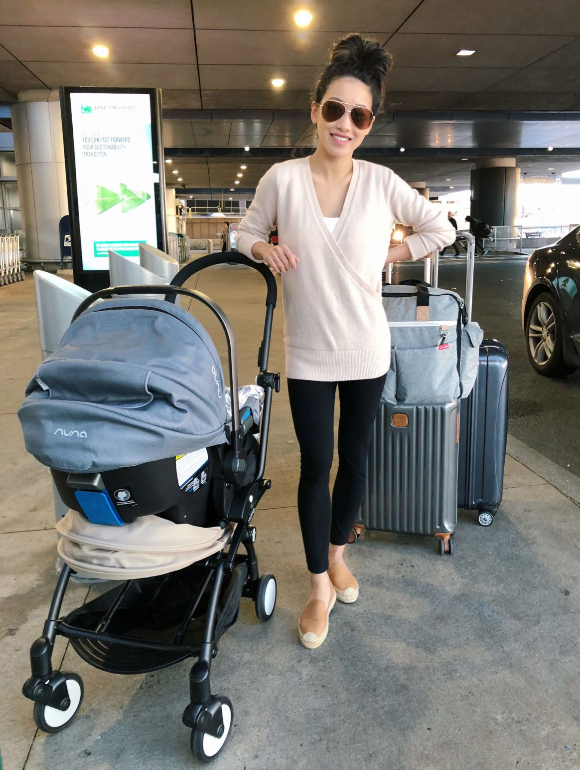 nursing-friendly) Travel outfit + flying with a baby  3e55fd952b173