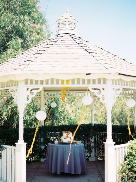 Good use of a gazebo - backyard wedding | 21st | Pinterest | Wedding Gazebo For Backyard Weddings Ideas on trellis ideas for weddings, wishing wells ideas for weddings, canopy ideas for weddings, pool ideas for weddings,