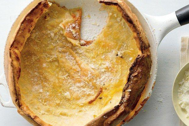 Dutch Baby with Lemon Sugar | Recipes, Dutch baby pancake ...