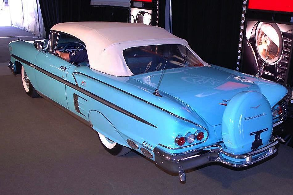 1958 Chevrolet Impala Convertible w/ Touring Package