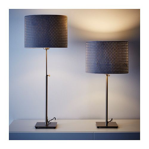 Gray Table Lamps Mesmerizing ALÄNG Table Lamp Nickel Platedgray IKEA Oak Park Apt