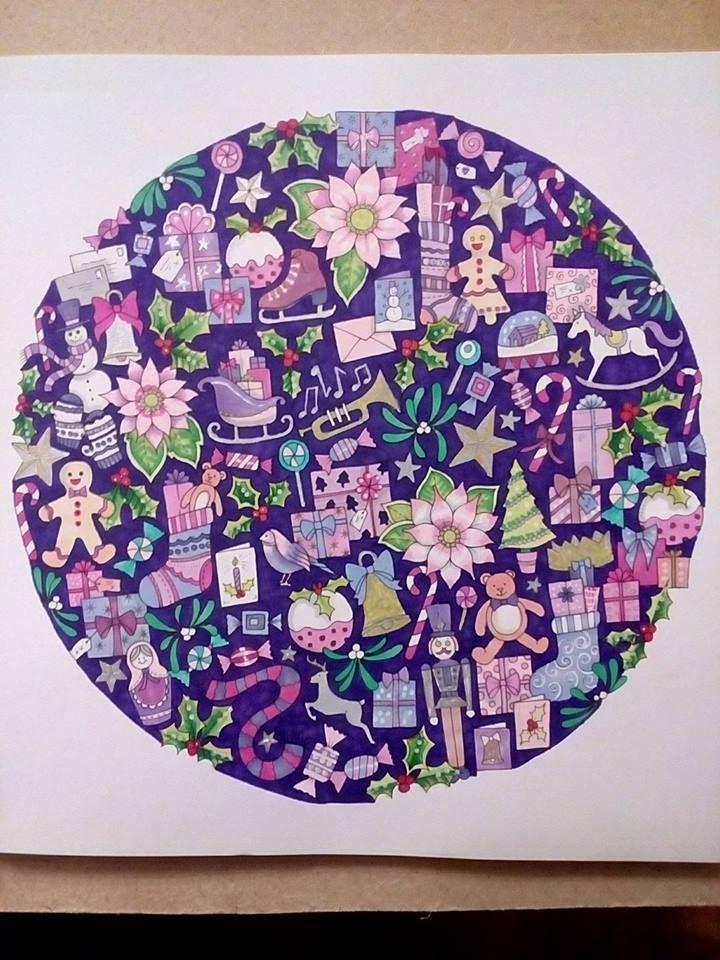 Pin de Rachel Wentworth en Coloring--Johanna\'s Christmas | Pinterest ...